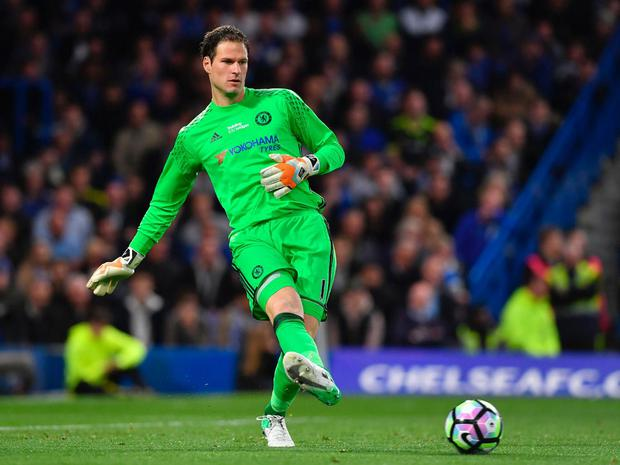 Asmir Begovic doesn't believe that playing five league matches should warrant receiving a winners' medal. Getty