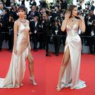 Emily Ratajkowski and Bella Hadid turn heads in silk gowns at Cannes Film Festival. Images: Getty