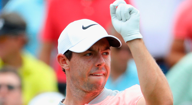 Rory McIlroy was troubled by a back issue during The Players Championship. Photo: Warren Little/Getty Images