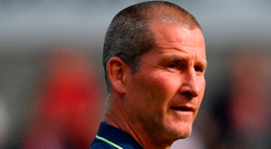 Leinster senior coach Stuart Lancaster. Photo: Ramsey Cardy/Sportsfile