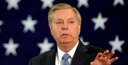 Lindsey Graham. Photo: Brian Snyder