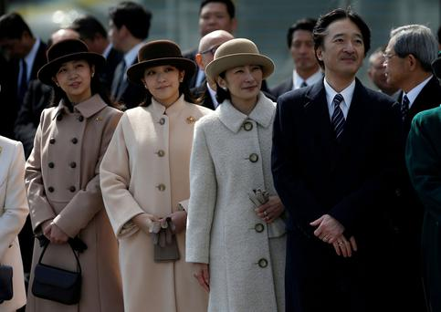 Japan monarchy: Princess Mako to lose royal status by marrying commoner
