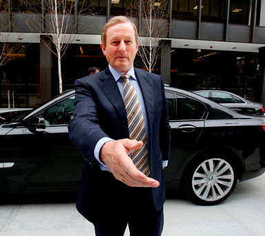 'Enda Kenny was rated by the Barack Obama White House, and by the EU Commission President Jose Barosso, not for any special intellect or skills, but as someone who was guiding the Irish economy out of recession.' Photo: Tom Burke