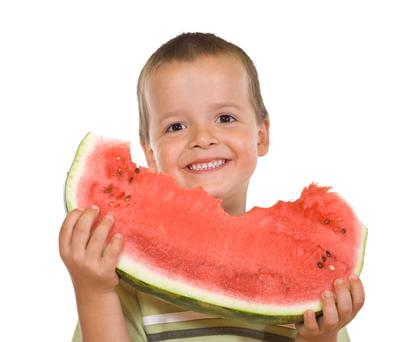 Brain training can help children to develop healthy eating habits. Stock picture