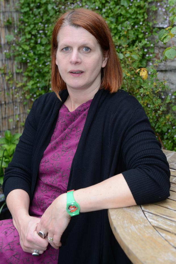 Kate Devlin from Derry sadly lost her husband Paul while on a family holiday. Picture Martin McKeown.