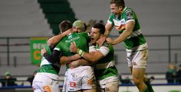 Treviso have already secured their qualification despite finishing 10th because of the current rules that stipulate that each participating country should have one entrant. Photo: GETTY