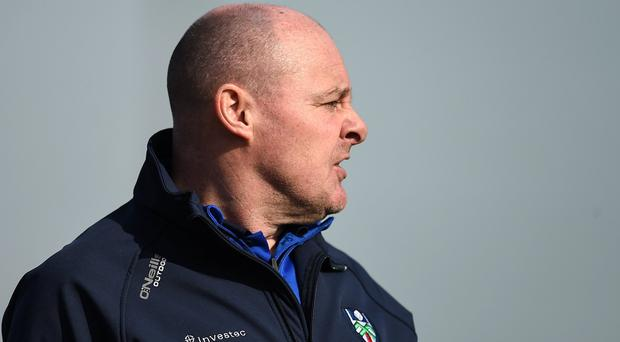 Monaghan manager and Fermanagh native Malachy O'Rourke. Photo: Philip Fitzpatrick/Sportsfile