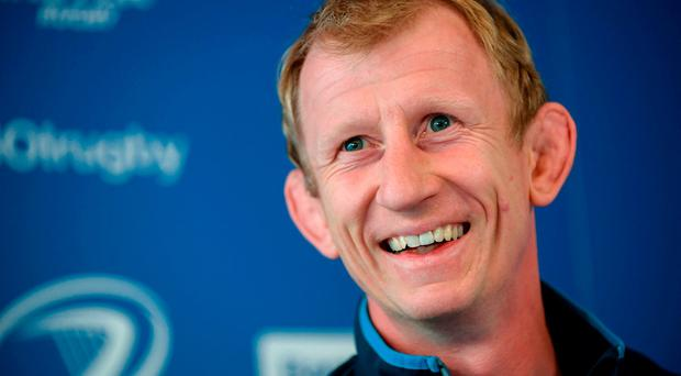 Leinster head coach Leo Cullen during a Leinster Rugby Press Conference at the RDS Arena. Photo: Sam Barnes/Sportsfile