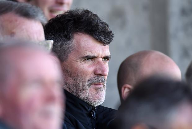 Keane did attend Limerick's Premier Division match with Drogheda United on April 15 but the approach ultimately came to nothing. Photo: Matt Browne/Sportsfile
