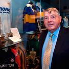 Former Tipperary player and manager Michael 'Babs' Keating at the official opening of the GAA Museum 'Imreoir to Bainisteoir' exhibition launch at the GAA Museum in Croke Park. Photo: MATT BROWNE/SPORTSFILE