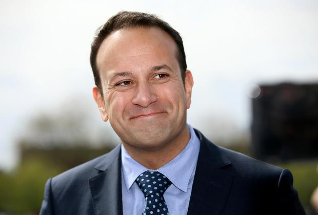 All smiles: Leo Varadkar is in pole position in the race to succeed Enda Kenny Picture: Frank McGrath