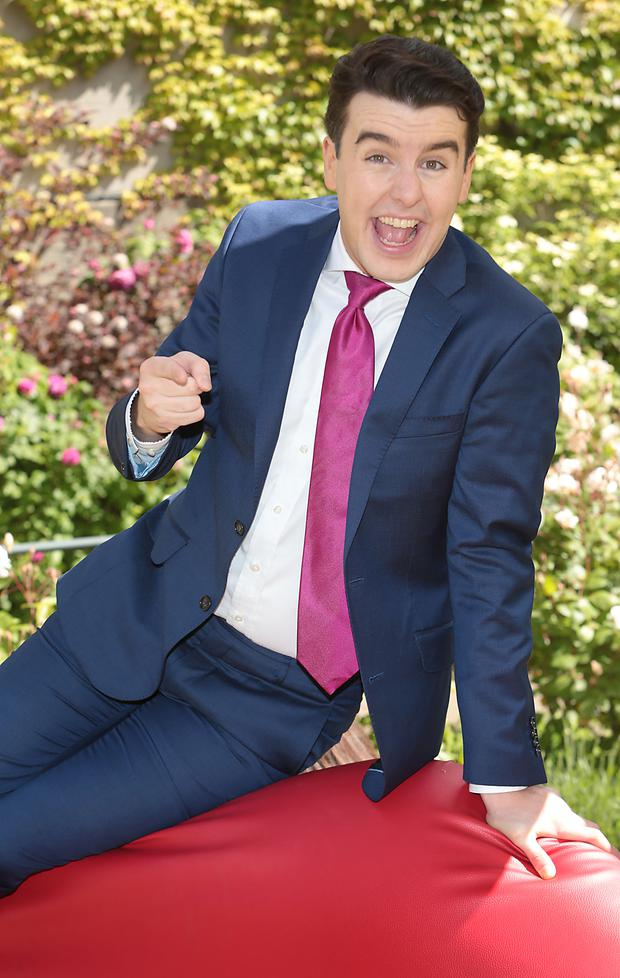TV3 unveiled comedy superstar Al Porter as the host of its brand new entertainment show Blind Date. Pictures :Brian McEvoy
