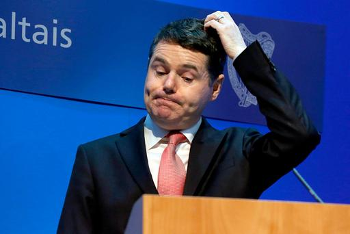 Expenditure and Public Reform Minister Paschal Donohoe. Photo: Tom Burke