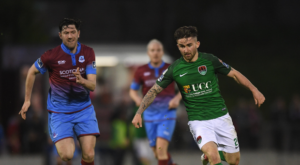 19 May 2017; Sean Maguire of Cork City during the SSE Airtricity League Premier Division game between Cork City and Drogheda United at Turners Cross in Cork. Photo by Eóin Noonan/Sportsfile