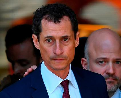 Former US Congressman Anthony Weiner