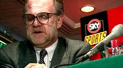 Former Sky Sports MD, the late Vic Wakeling