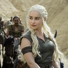 Actress Emilia Clarke as Daenerys Targaryen in Game of Thrones