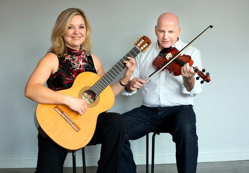 Sonya Murphy-Lyons with Sean Gallagher. Picture: Tony Gavin