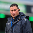 29 April 2017; Connacht head coach Pat Lam Photo by Diarmuid Greene/Sportsfile