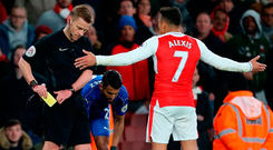 Alexis Sanchez won't be short of tempting offers to leave Arsenal this summer. Photo: PA Wire