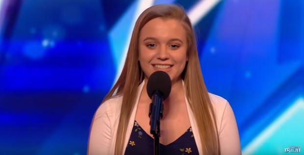 Leah Barniville (14) left the judges stunned with her classical performance on the programme last night
