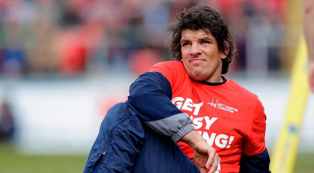 Donncha O'Callaghan is now the oldest swinger in town at Worcester – and he's loving every minute of it. Photo by Malcolm Couzens/Getty Images