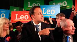 Leo Varadkar at the launch of his campaign for the leadership of Fine Gael last week. Photo: Colin Keegan/Collins