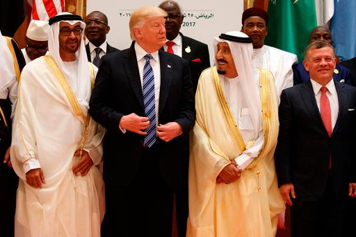 The internet is losing its mind over Trump's Saudi 'orb' photo