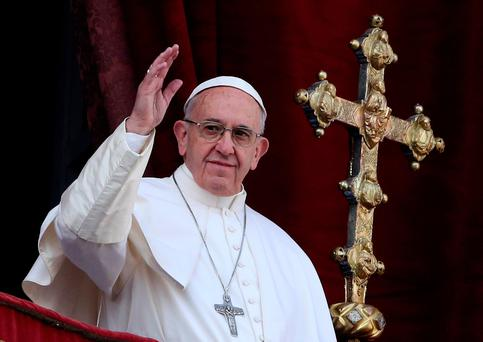 Pope Francis Picture: Reuters