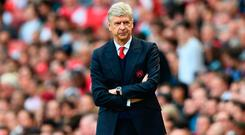 Doubtful: Wenger. Photo: Getty Images