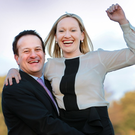 Leo Varadkar and former Fine Gael minister Lucinda Creighton, pictured in 2011 Picture: Gerry Mooney