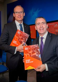 Deputy Damien English still believes Simon Coveney could be the next Fine Gael leader