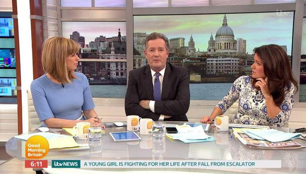 Kate Garraway, Piers Morgan and Susanna Reid discuss Cher's Billboard Music Awards outfit