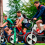 Jonathan Sexton of British and Irish Lions alongside team-mates Sean O'Brien and Rhys Webb during squad training. Photo: Sportsfile