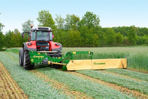 Krone's farmer spec mower, the AMR240, is priced at €6,600 + VAT and features the clever SafeCut protection system
