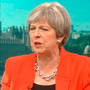 Theresa May appearing on the Andrew Neil programme on BBC One. Photo: BBC/PA Wire