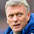 Moyes was hired just last summer. Photo: PA Wire.