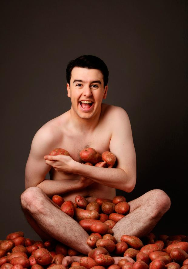 Al Porter stripped down for the Irish Independent's Health & Living magazine