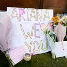 Tributes left outside St Ann's Church in Manchester, the morning after a suicide bomber killed 22 people, including children, as an explosion tore through fans leaving a pop concert, at Manchester Arena. Photo: Ben Birchall/PA Wire