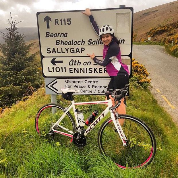 Ciara is training for a 360km cycle in honour of her sister Tonya who died  in d3f6d9cdf