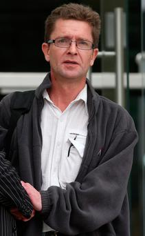 Conrad Mason (46) of Elm Mount Close, Beaumont, Dublin pictured at the Dublin Circuit Criminal Court at a previous hearing. Pic Collins Courts.