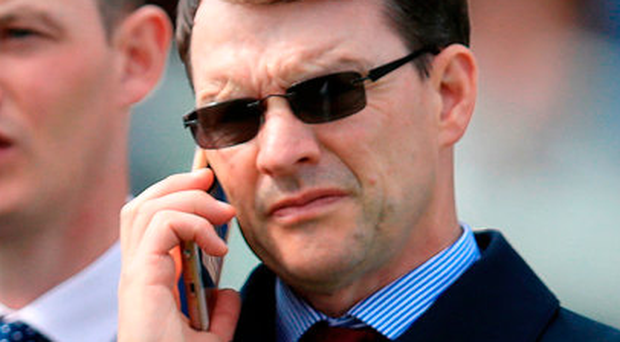 Trainer Aidan O'Brien Photo: Mike Egerton/PA Wire