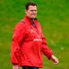 Rassie Erasmus is determined to give Munster's loyal supporters a winning finale to the season Photo: Diarmuid Greene/Sportsfile