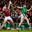 The moving of Daithí Burke, pictured in action against Limerick in the league semi-final, has been one of the most significant changes to the Galway team under Micheal Donoghue. Photo: Sportsfile