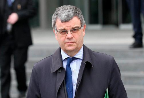 Kieran Kelly, an audit partner with EY, pictured leaving Dublin Circuit Criminal Court. Photo: Collins Courts