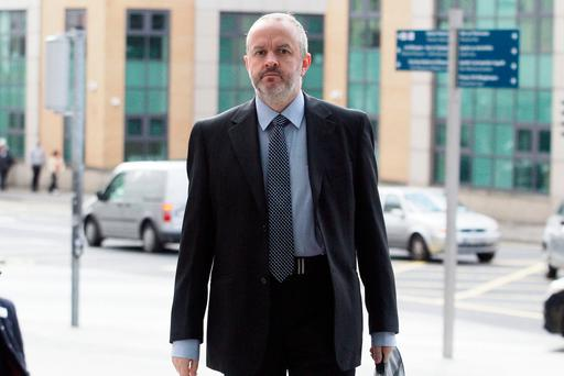 Mr O'Connell played a lead role in probing allegations Mr FitzPatrick deceived auditors about the size of loans he had received from Anglo. Photo: Collins Courts