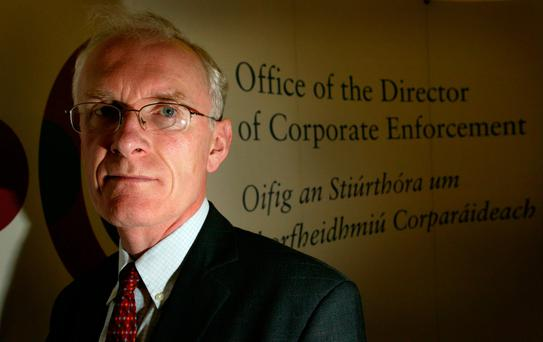 Paul Appleby, former head of the Office of the Director of Corporate Enforcement. Photo: Gerry Mooney