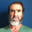 Manchester United legend Eric Cantona with a poignant message for Manchester