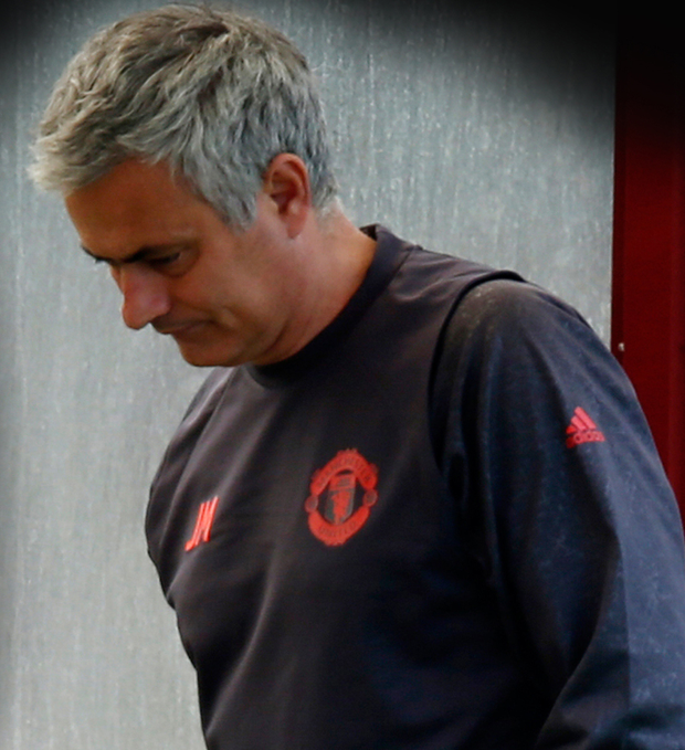 United boss Jose Mourinho believes his side have a job to do tonight in the Europa League Final despite the terrible events in Manchester