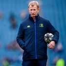 Learning from the mistakes of this season will be crucial if Stuart Lancaster and Leo Cullen are to take Leinster forward next time around Photo: Stephen McCarthy/Sportsfile
